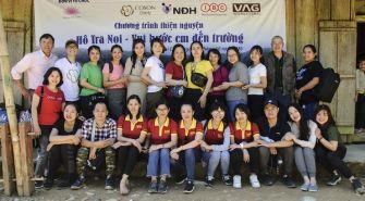 Công ty CP Quốc tế VAG đồng hành cùng nhiều CHƯƠNG TRÌNH THIỆN NGUYỆN tháng 10